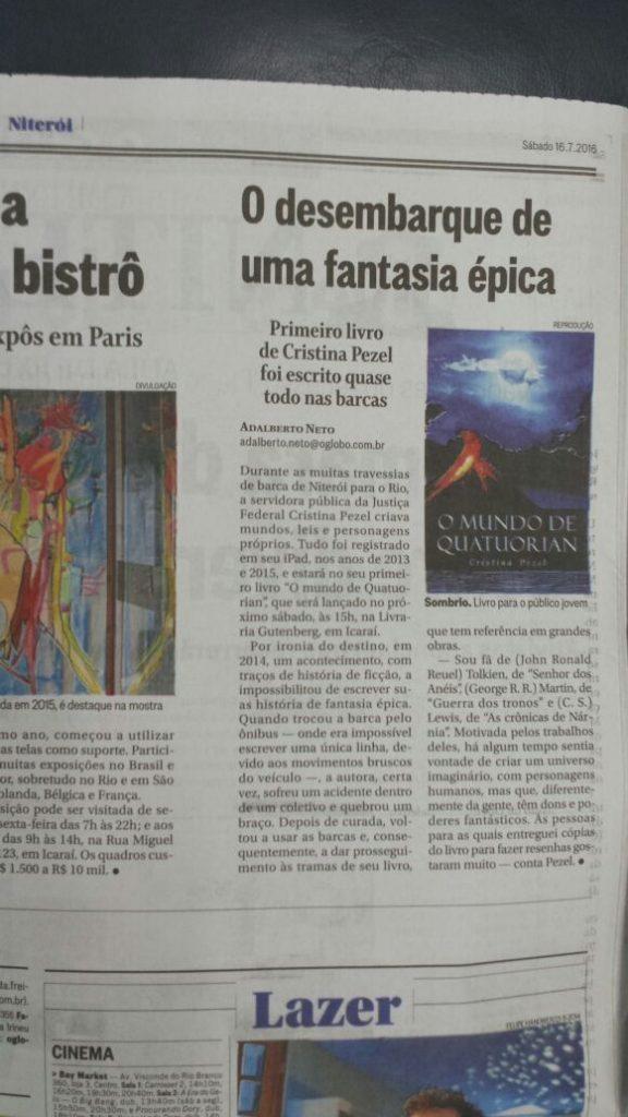 O Globo - O Mundo de Quatuorian