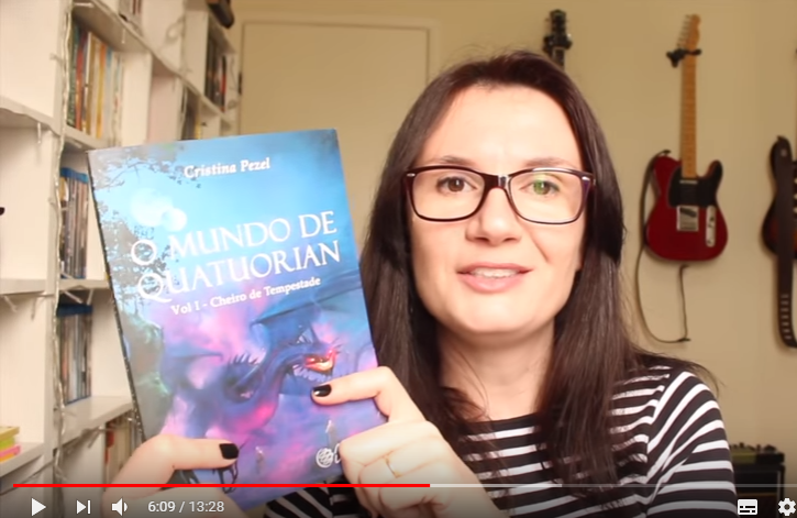 Tatiana Feltrin (Canal Tiny Little Things) fala de O MUNDO DE QUATUORIAN