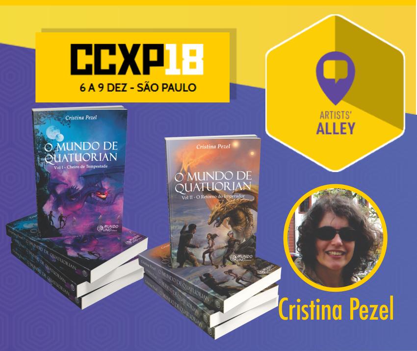 CCXP 2018 Literatura Fantástica
