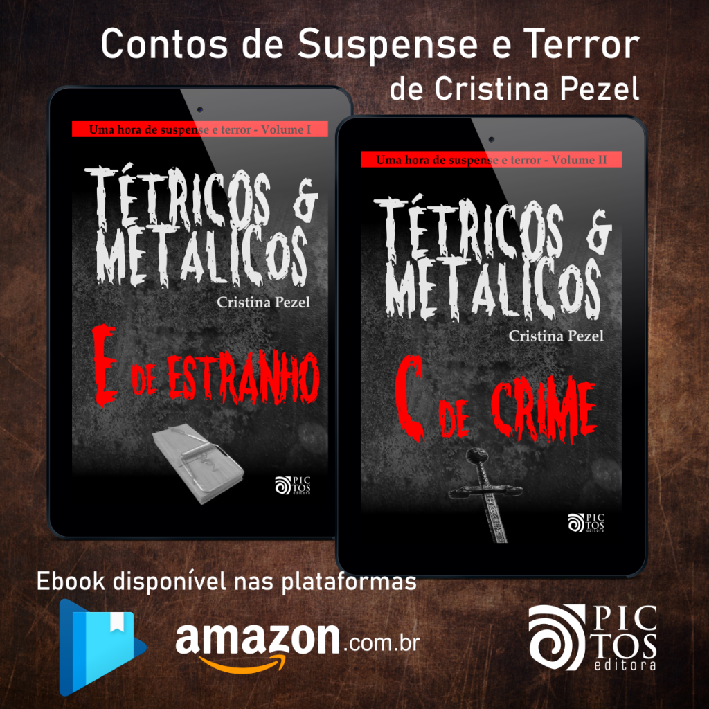 Tétricos e Metálicos - Contos de Suspense e Terror